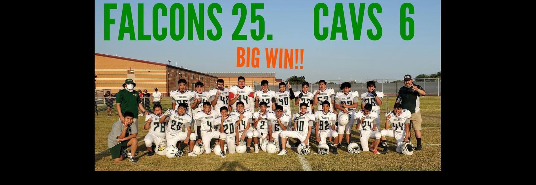 Falcons beat Cavs
