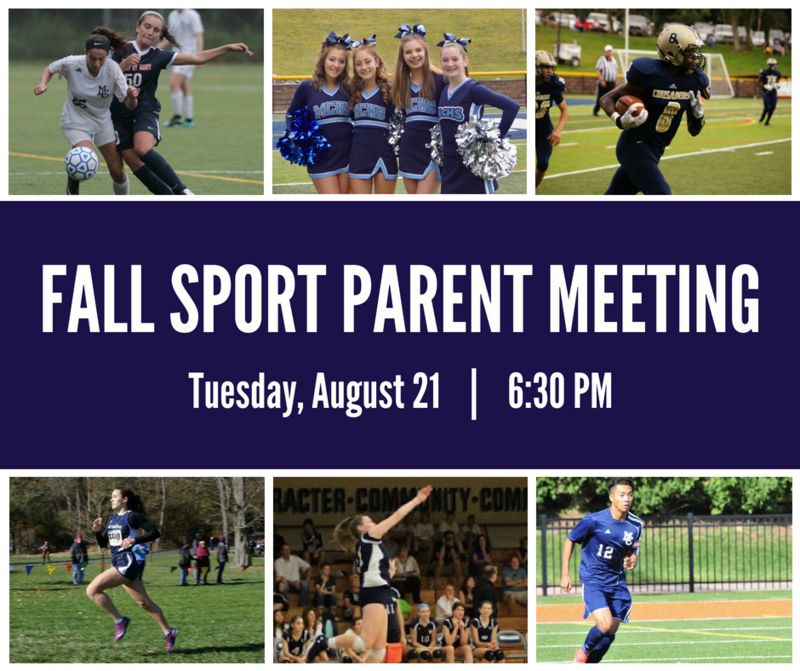 Fall Sport Parent Meeting Thumbnail Image