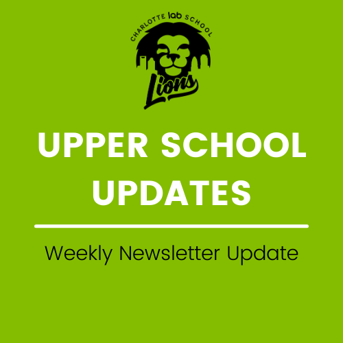 Upper School Updates - Week of 4/19 Featured Photo