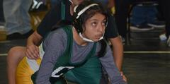 Preparing to wrestle