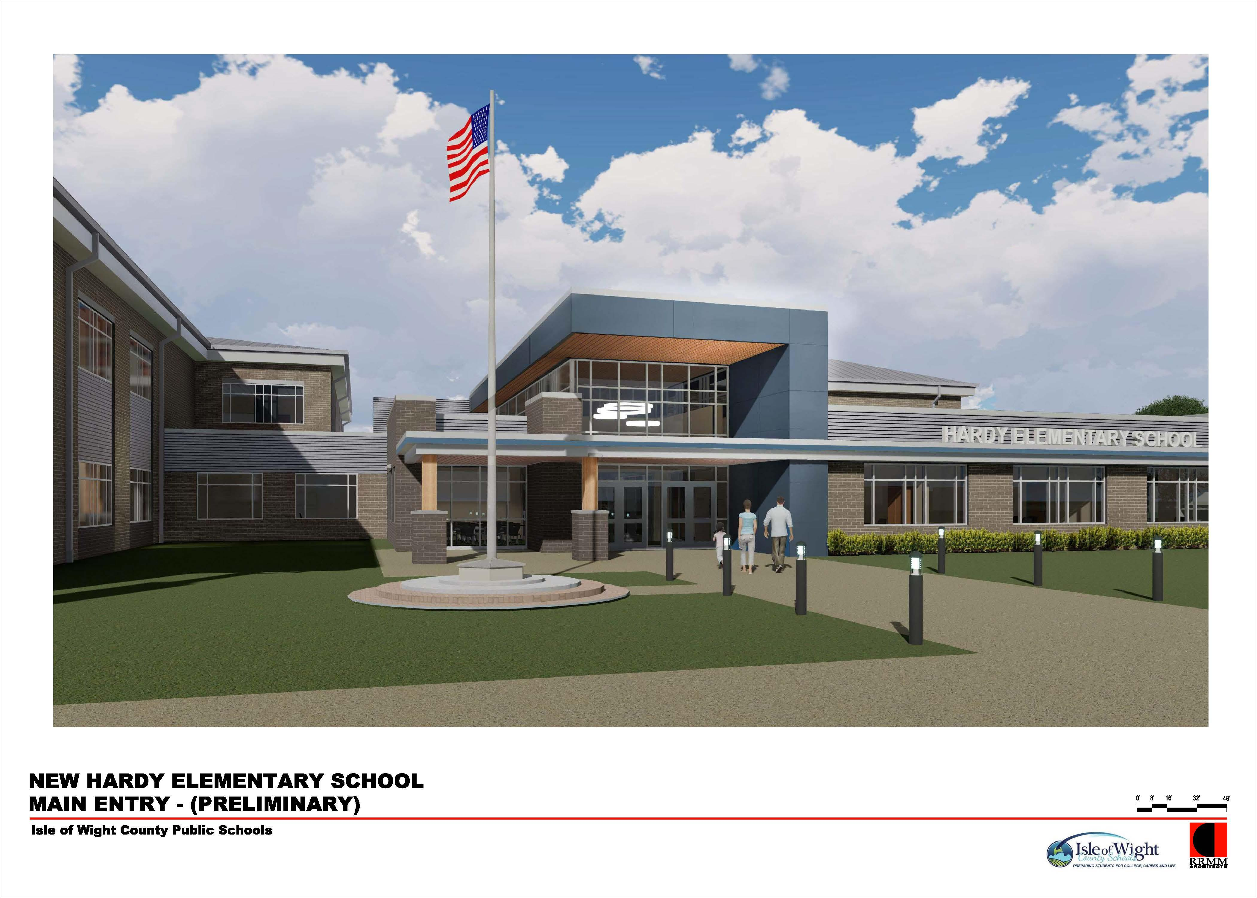New Hardy Elementary Exterior