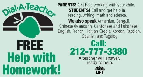 Dial a Teacher Information