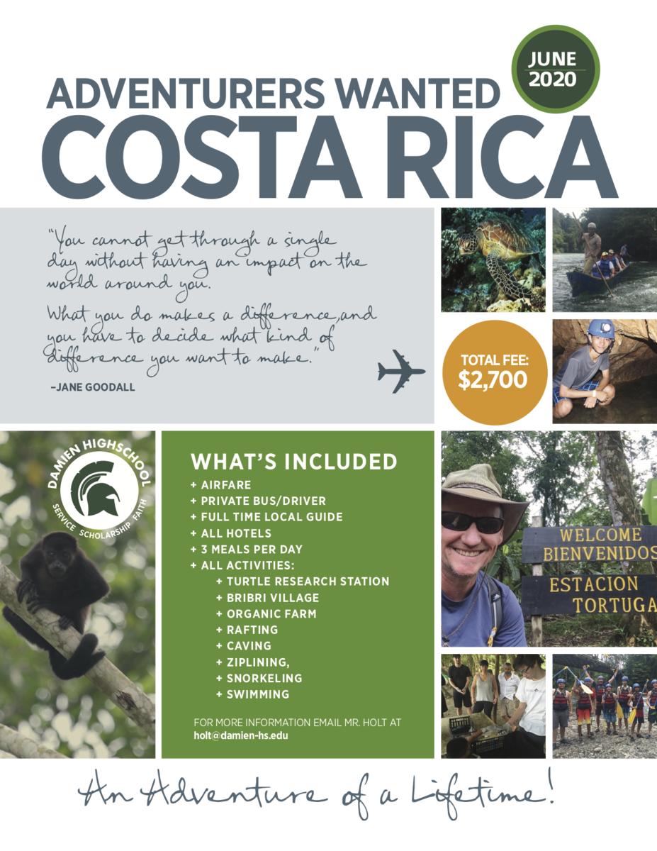Costa Rica Trip 2020