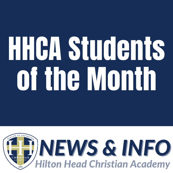HHCA Students of the Month