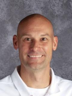 This is a picture of South Elementary principal, Jason Hussel