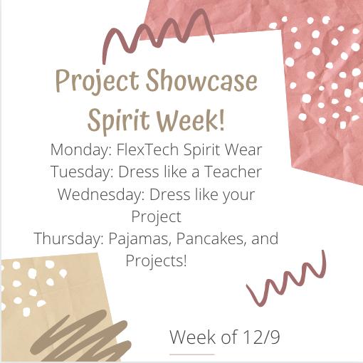 Spirit Week 12/9 - 12/12