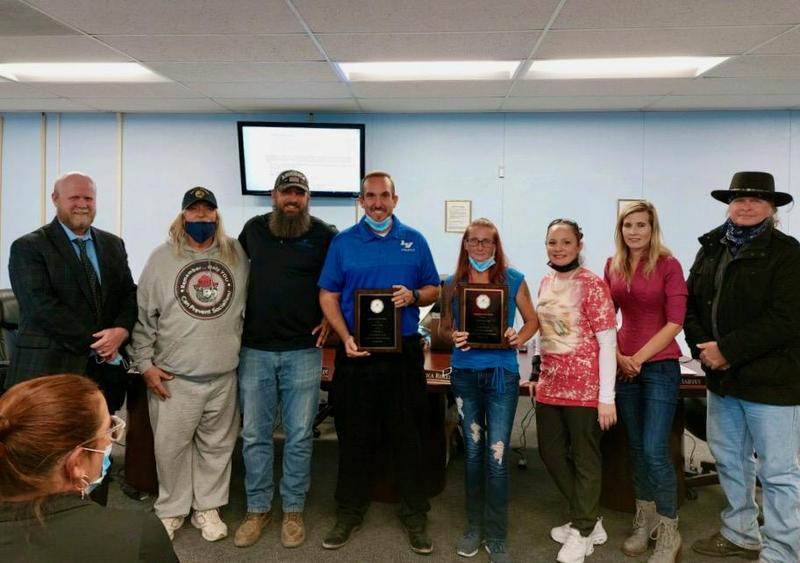 Brandon Barkley, Samantha Kerestessy Named Employees of the Month Featured Photo
