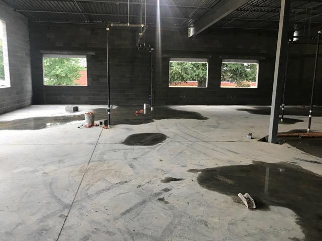 We have floors! 10/11/2017
