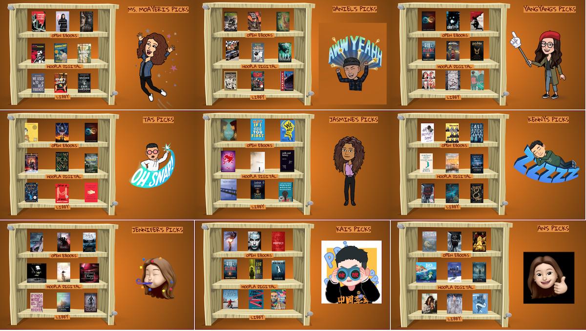 Lincoln Library Team Book Picks