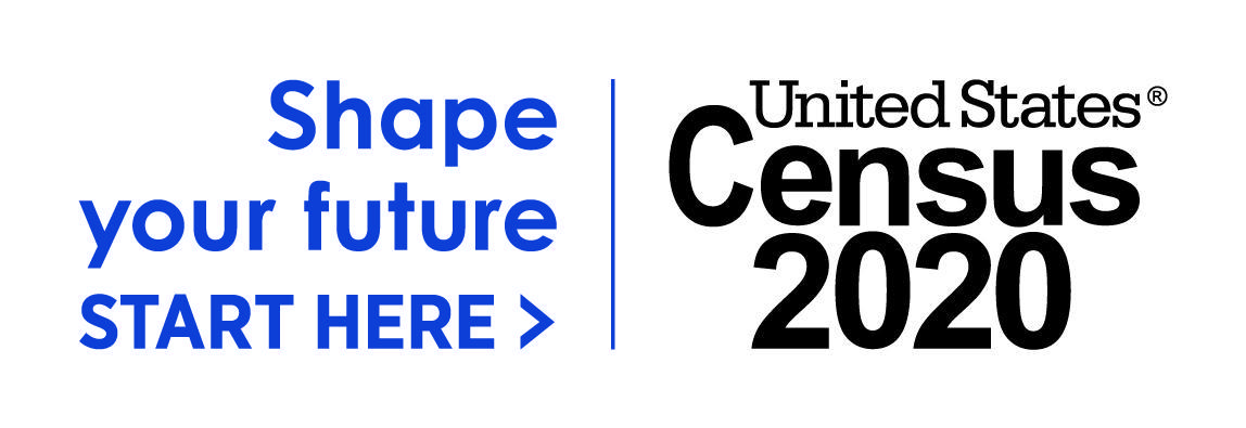 United States Census Logo - Shape Your Future Here.