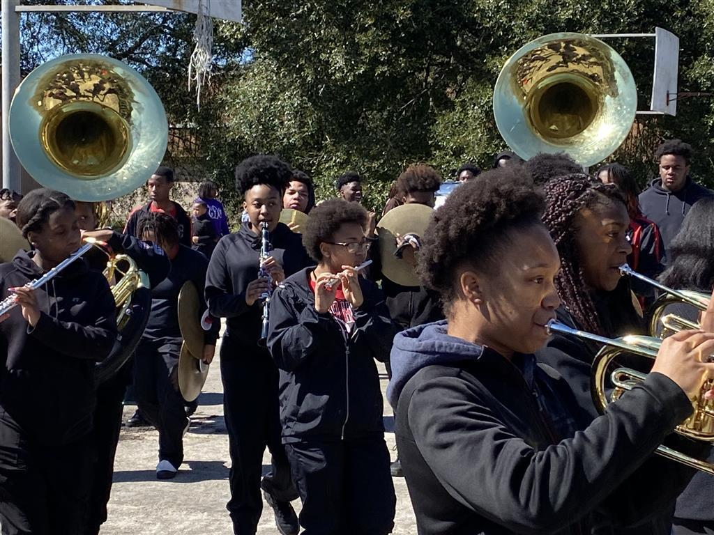 PRAMS 2020 Annual Mardi Gras Parade featuring 'The Symphony of Soul' and 'The Buffettes.'
