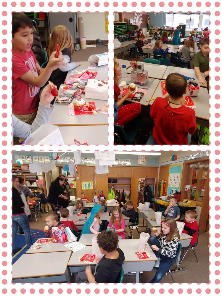1st grade valentines party