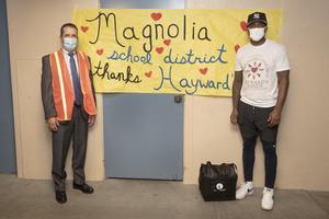 Dr. Donavan with Casey Hayward