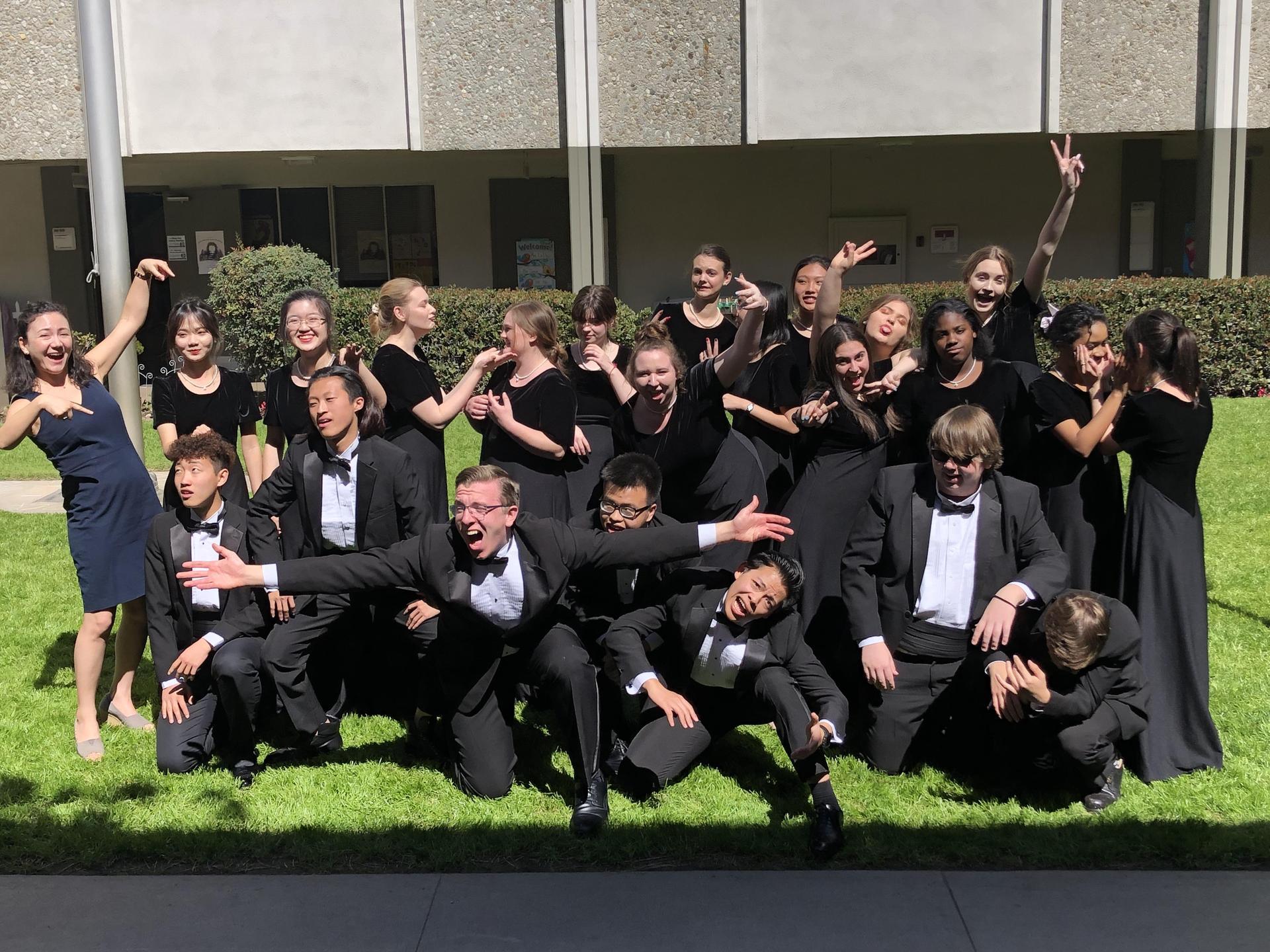 4f72b0cfa93 The Brethren Christian High School choir participated in the annual ACSI  Musicale