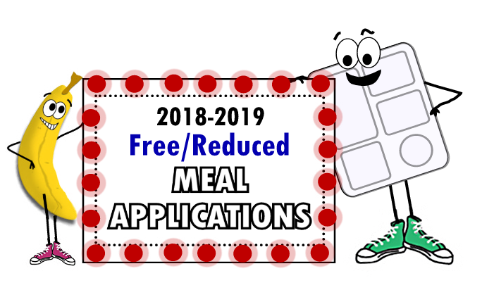 2018-2019 Free and Reduced Meal Applications Now Available Thumbnail Image