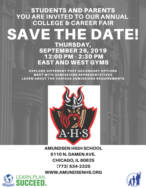 Save the Date!  AHS College and Career Fair is September 26th! Featured Photo