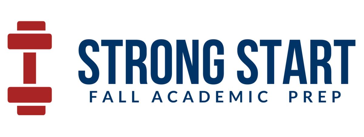 strong start summer program logo