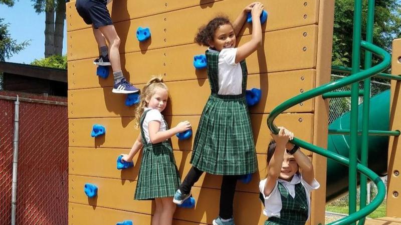 New playground for kids