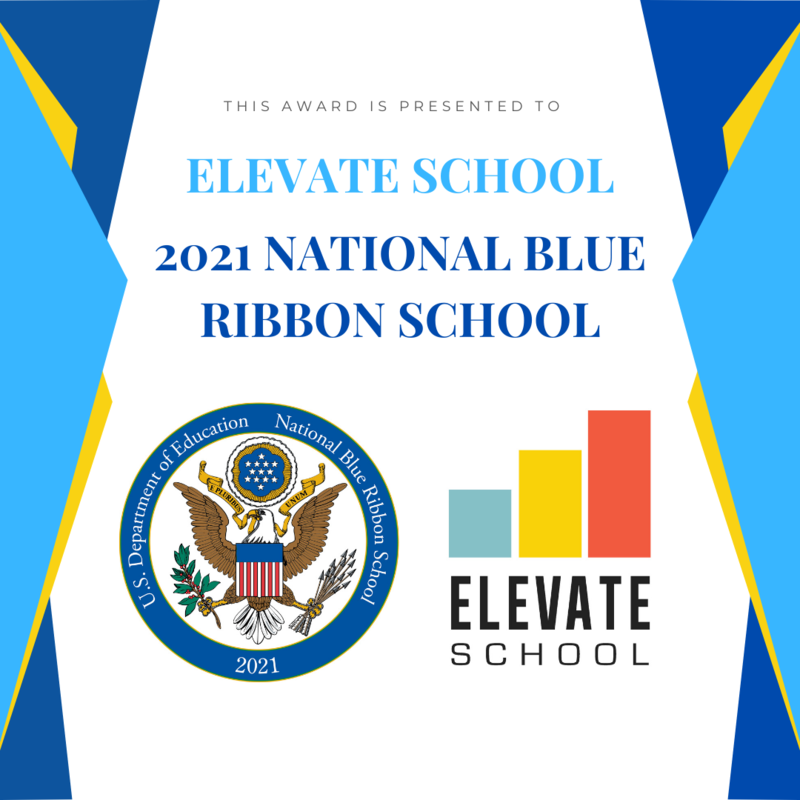 BREAKING NEWS! Elevate School Receives National Honor! Featured Photo