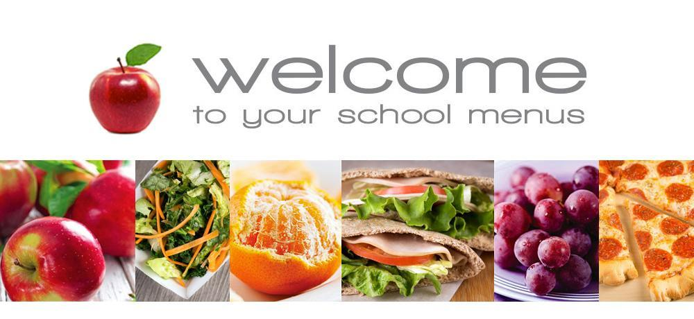 """""""Welcome to your school menu"""""""