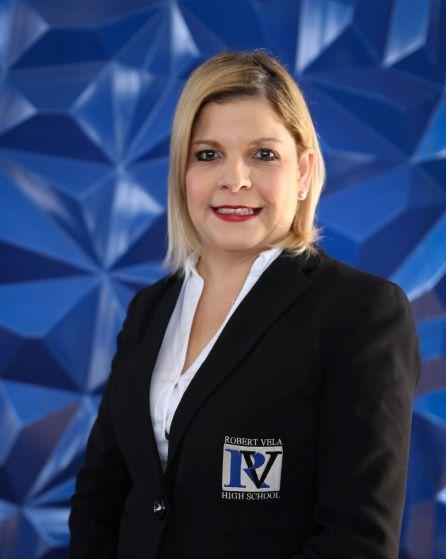 Principal Sylvia Ledesma