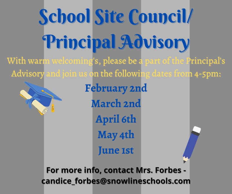 School Site Council/Principal's Advisory Featured Photo