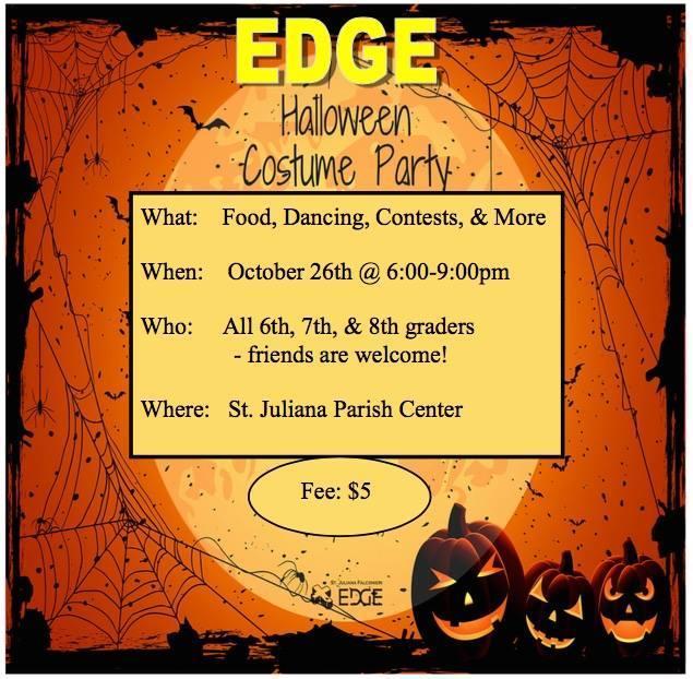 Halloween Dance - EDGE - $5 Featured Photo