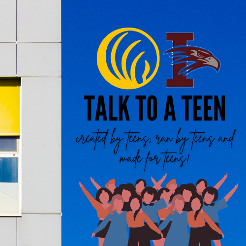 Talk To A Teen! (click here) Thumbnail Image