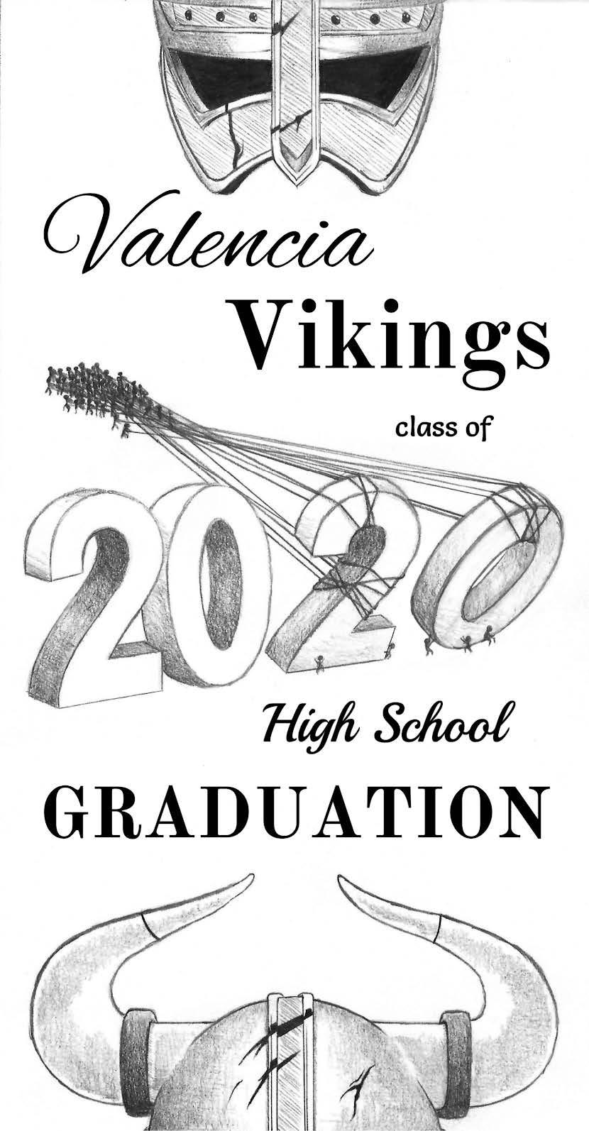 2020 program cover by Caitlyn Baker