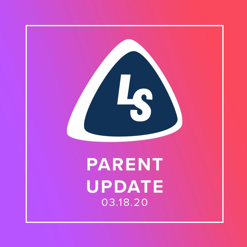 COVID-19 Parent Update 03.18
