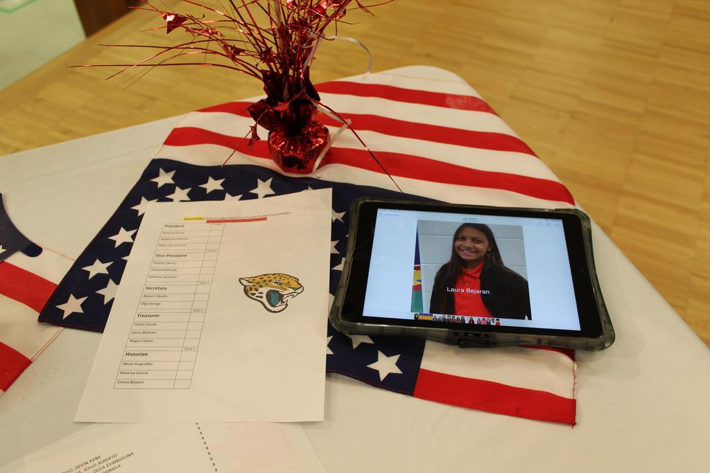 ballot and ipad
