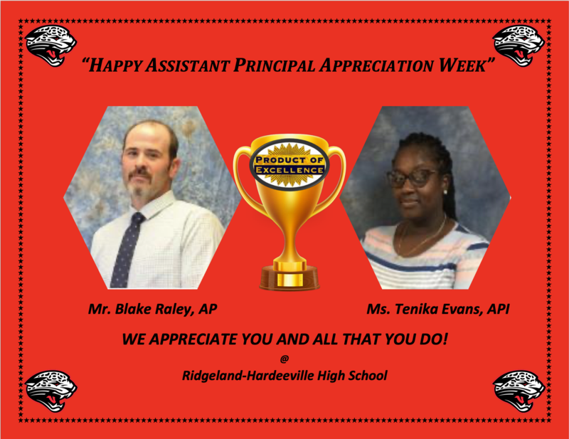 Assistant Principal's Week Featured Photo