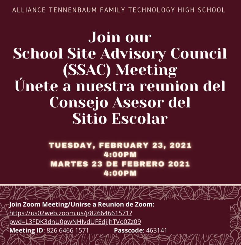 SSAC Meeting/Reunion de SSAC 2/23/2021 Thumbnail Image