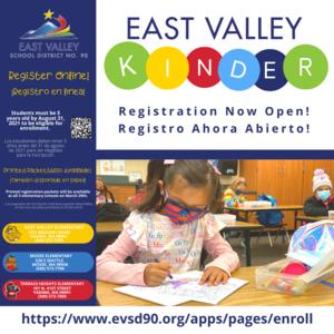 Kinder Registration Informational Graphic