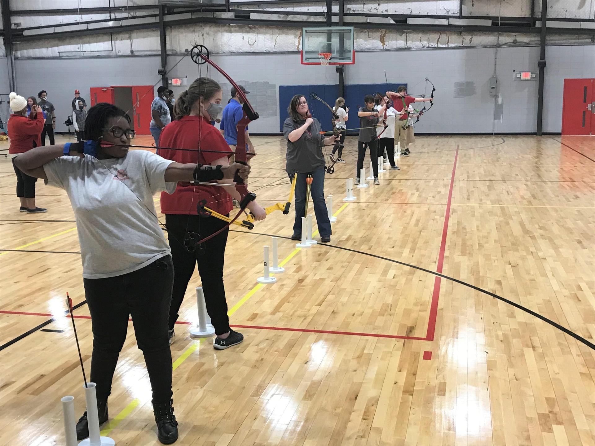NEHS Archery Team