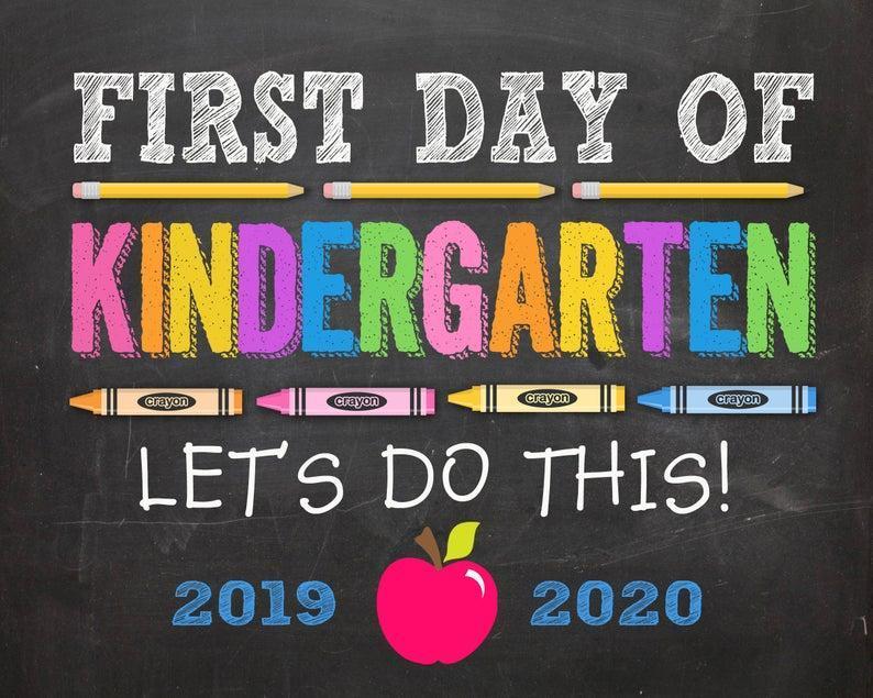 First Day of Kindergarten!  Wednesday 9/4/2019 Featured Photo