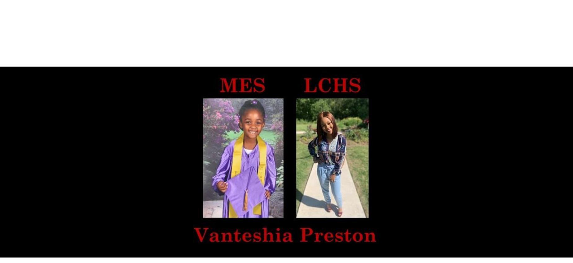 Vanteshia Preston K & 12th grade pics