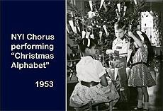 Tweet link to a video of Christmas past at NYI