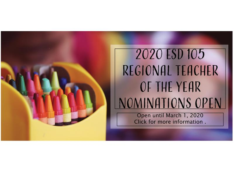 Information on Regional Teacher of the year nominations