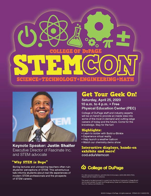 STEMCON flyer