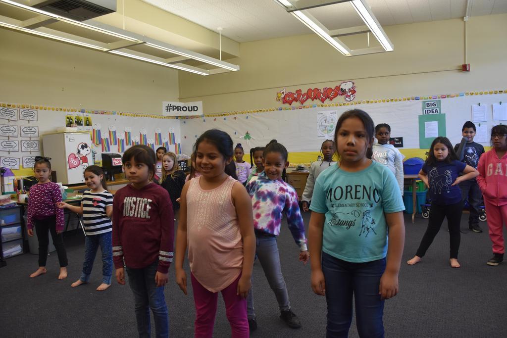 Student's dancing