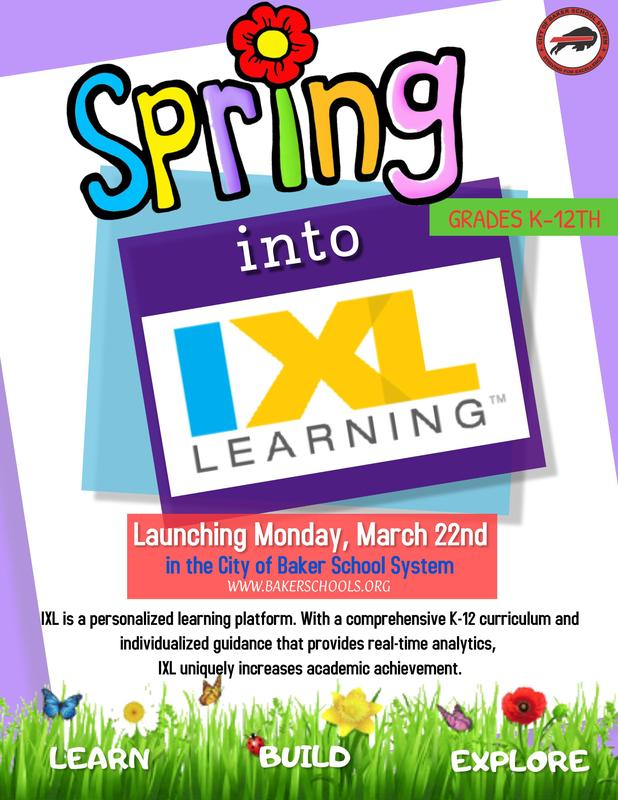 Spring Into IXL Learning