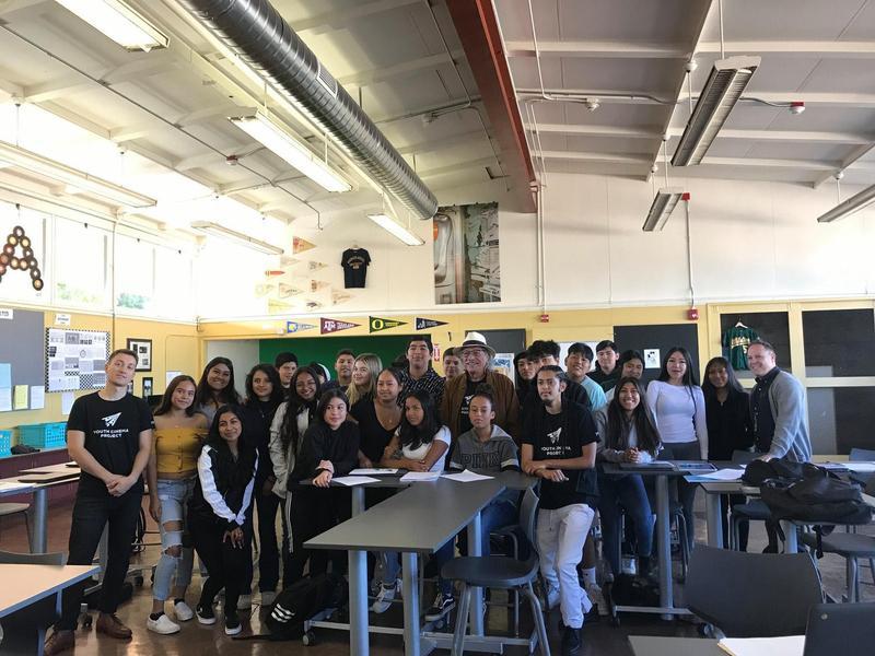 Latino film institute class at Del Mar High School