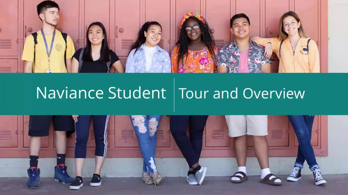 Naviance Student Overview
