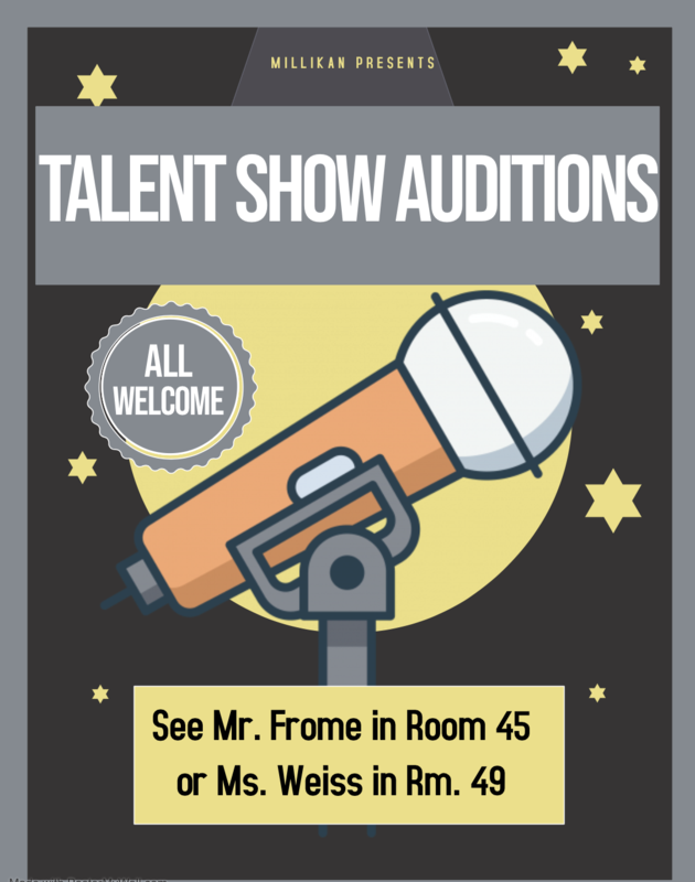 Millikan's Got Talent Auditions Featured Photo