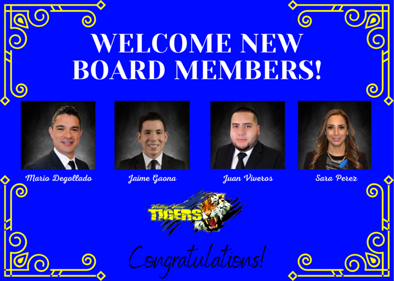 Good morning VVISD family, We would like to congratulate and welcome our new board members to our awesome Valley View ISD family. Thumbnail Image
