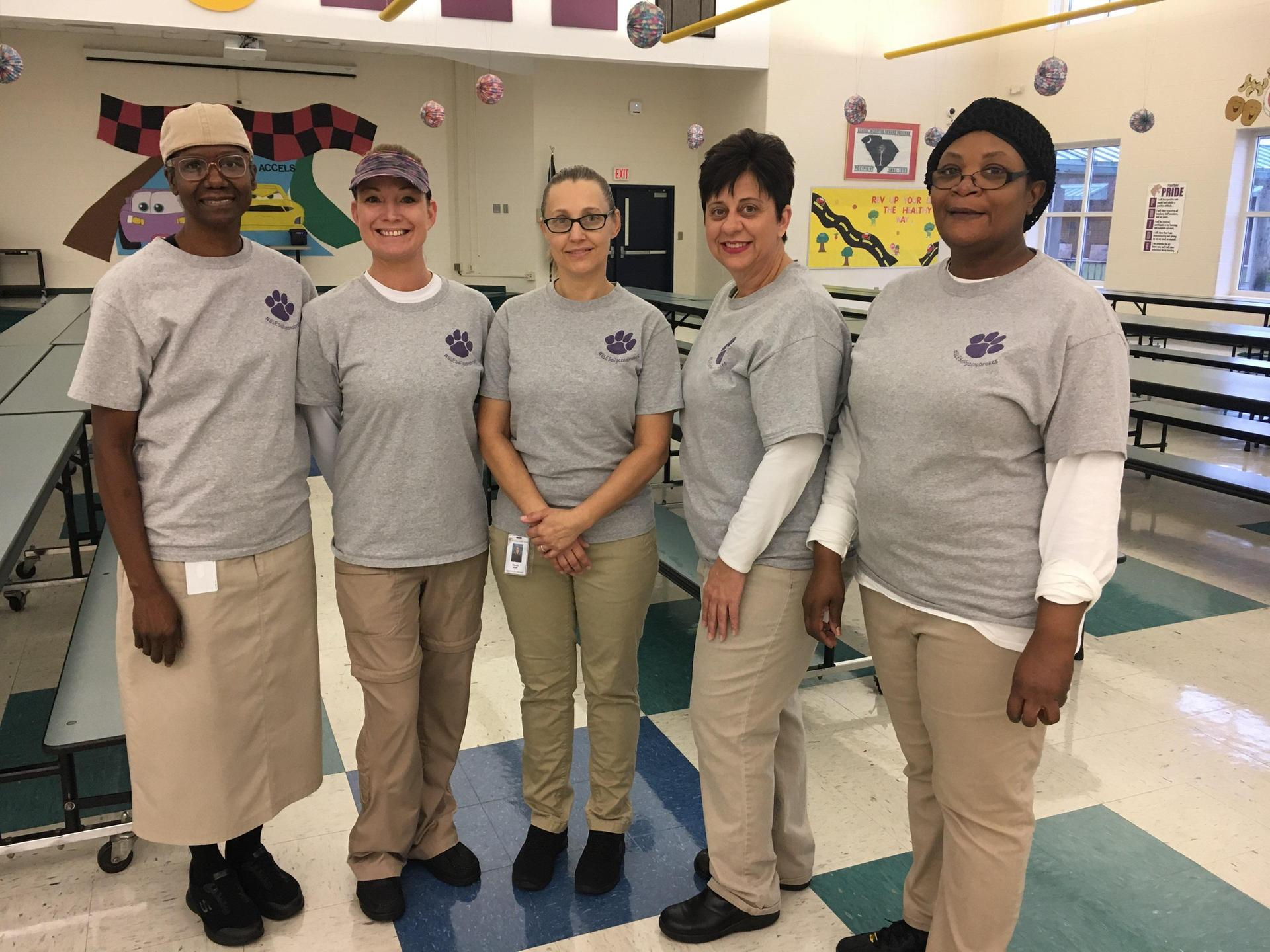 BLES Cafeteria Staff