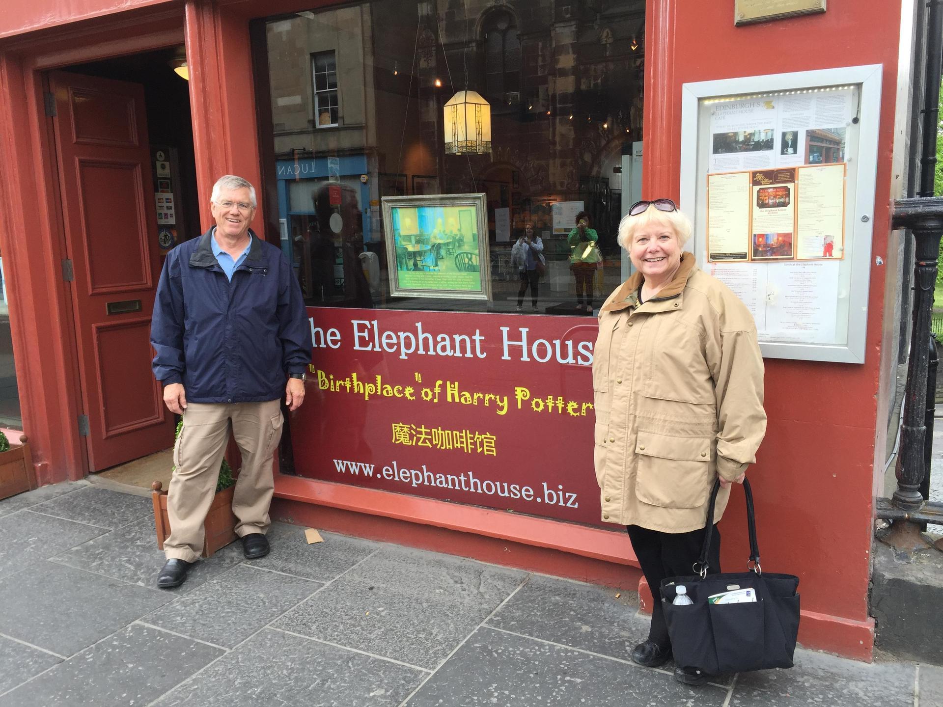 The Elephant House, Edinburgh, Scotland