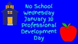 No School January 30