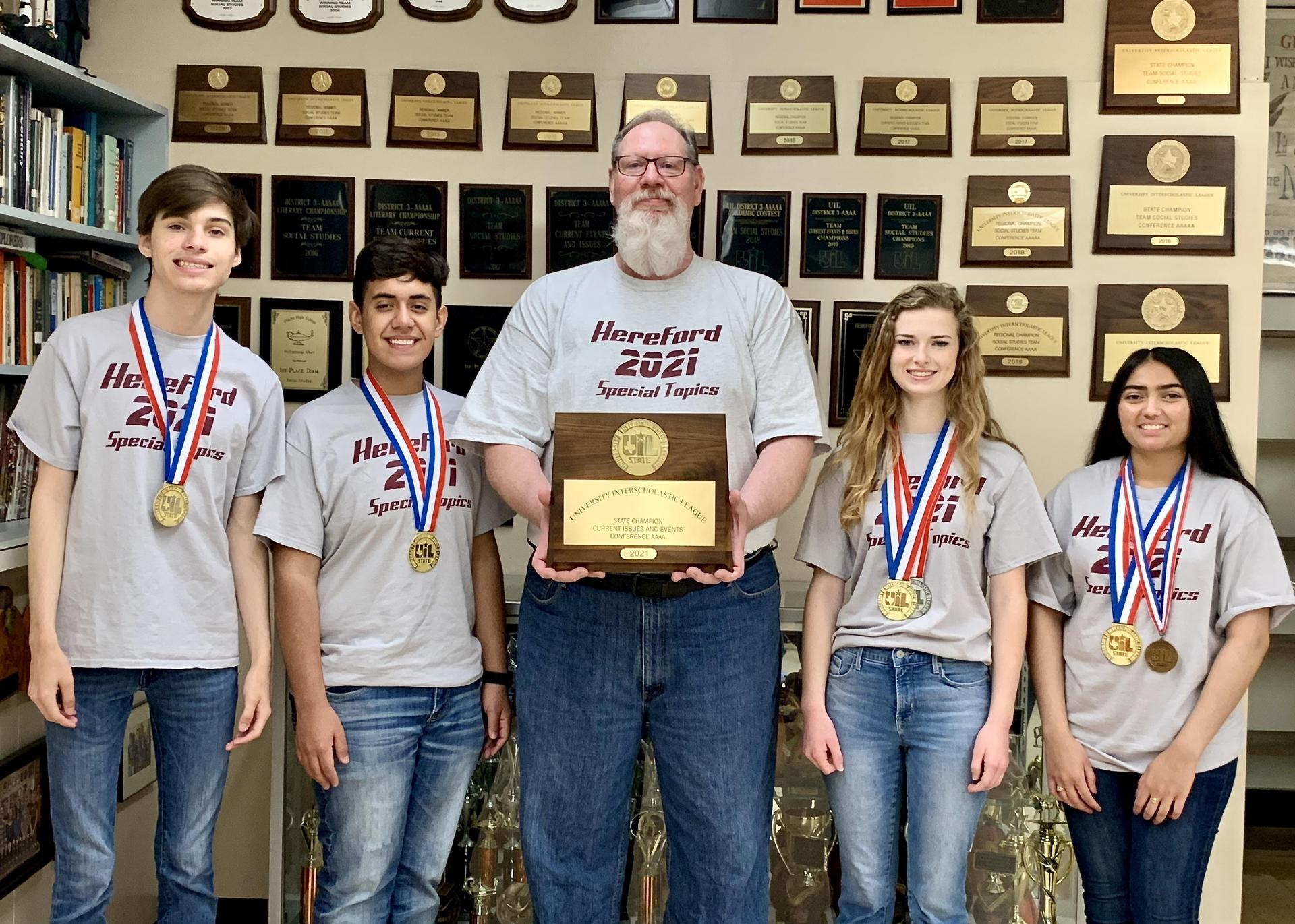 Social Studies State Champs!